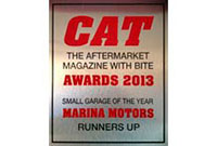 CAT Award Plaque